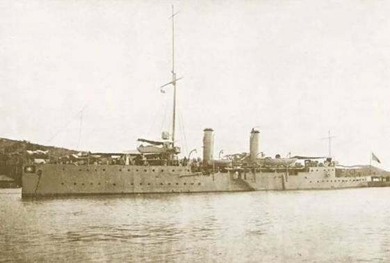 中山舰的前世今生:从日本订购,见证民国大事件,后被日机击落